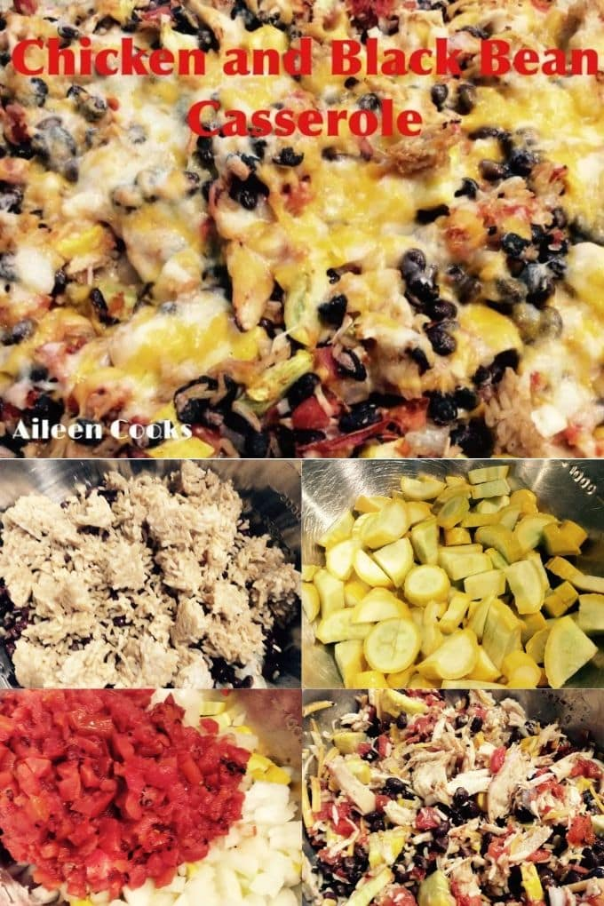 Are you looking for a healthy casserole recipe? This chicken andblack bean casserole is packed full of veggies, healthy black beans, and topped with cheese.