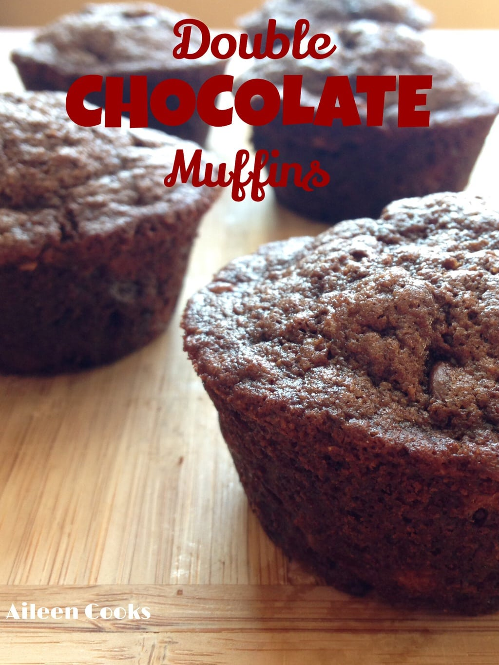 The Best Double Chocolate Muffins | Aileen Cooks