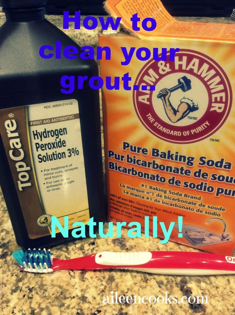 Homemade Grout Cleaner | aileencooks.com