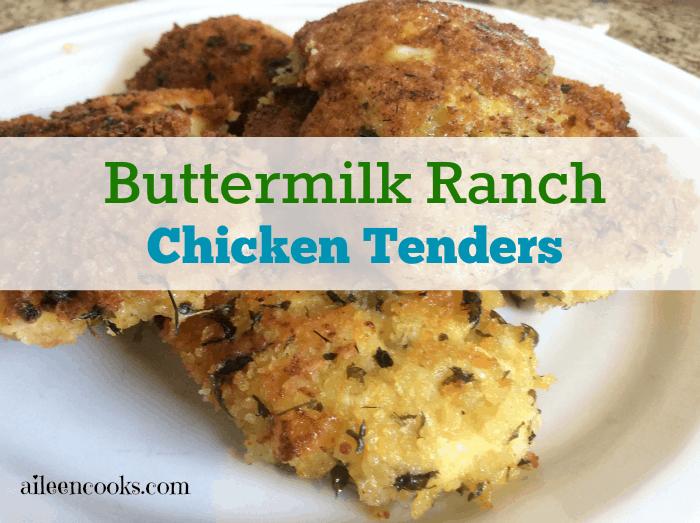 Buttermilk Ranch Chicken Tenders 1