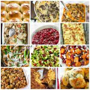 Top 30 Holiday Side Dish Recipes
