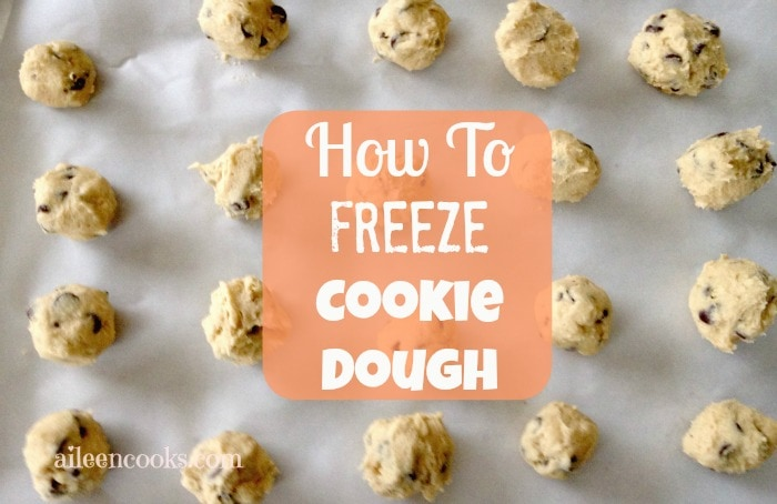 How to Freeze Cookie Dough 2