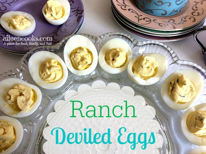 Ranch Deviled Eggs