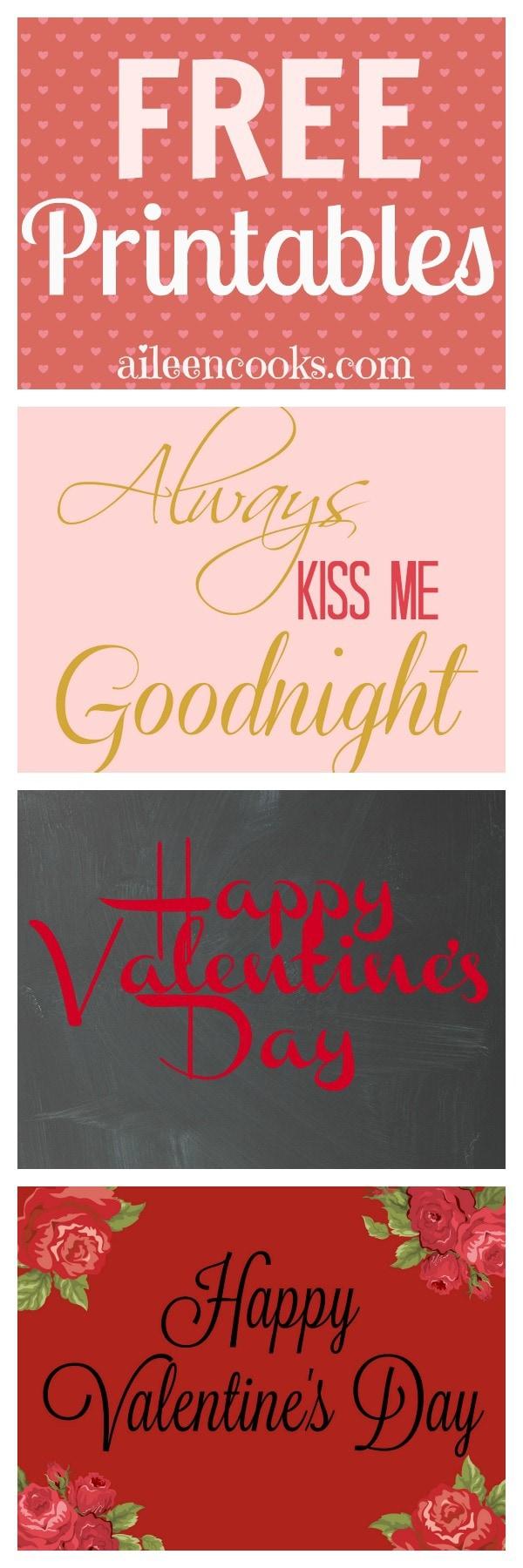 always kiss me goodnight free printable aileen cooks