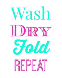Free Laundry Room Printables
