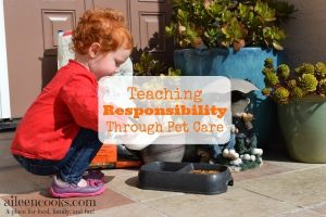 Teaching Responsibility Through Pet Care