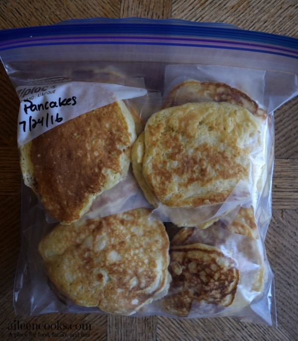 6 Weeks to Fill Your Freezer Week 2. Pancakes and taco stuffed shells + how to freeze pancakes