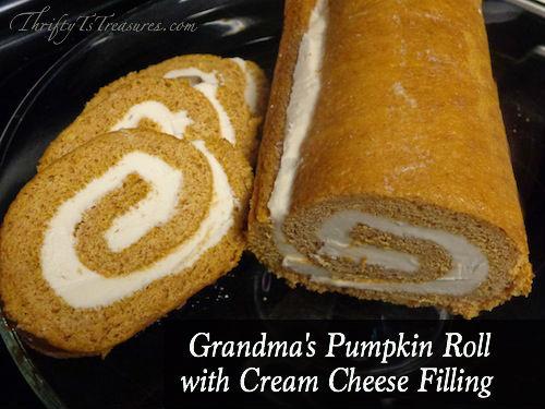 grandmas-pumpkin-roll-with-cream-cheese-filling