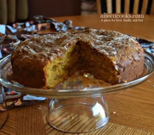 Pumpkin Streusel Coffee Cake