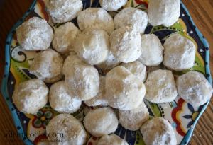 Hazelnut Snowball Cookies
