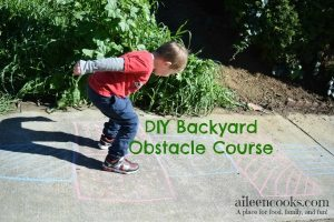DIY Backyard Obstacle Course