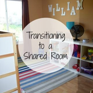 Transitioning to a shared room can be daunting. Make the move to shared bedrooms easier with these tips from a mom of three!