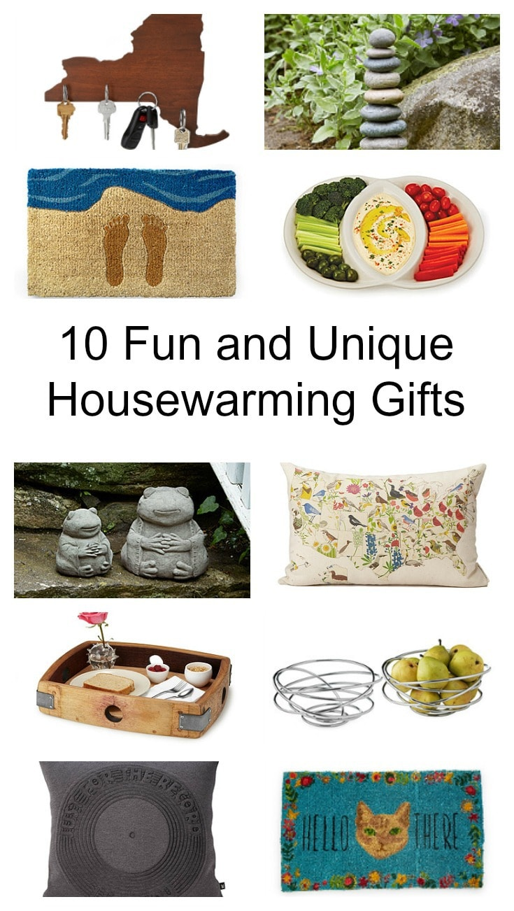 10 fun and unique housewarming gifts all found at UncommonGoods [ad]