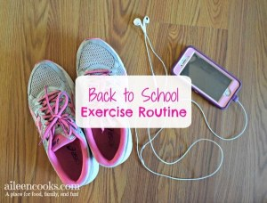 Back to School Exercise Routine