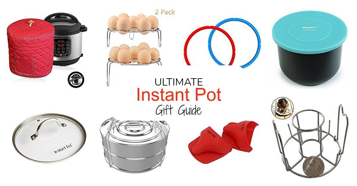 Ultimate instant pot gift guide for the instant pot electric pressure cooker fan in your life. This guide has all of the accessories you will ever need for your instant pot!