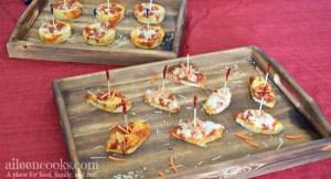 Fun Game Day Pizza Bites