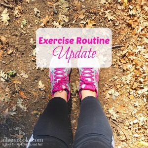 Exercise Routine Update