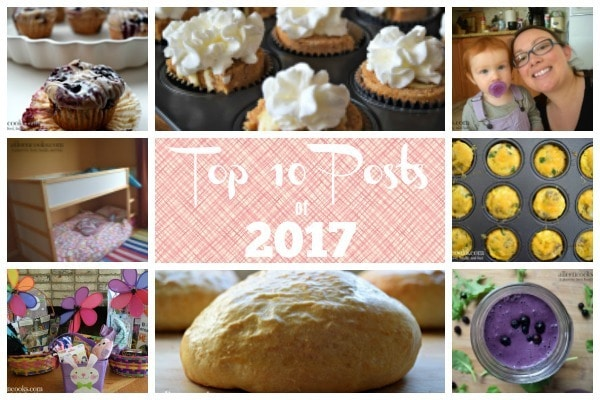 The top posts of 2017 from aileencooks.com plus a year end reader survey.