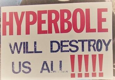 hyperbole sign