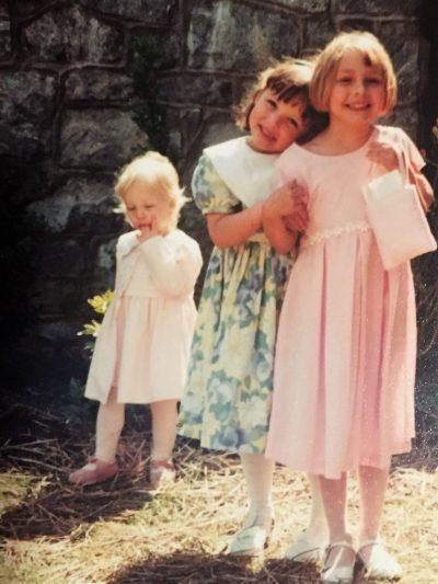 Girls in Easter Dresses