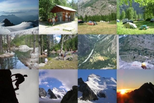 Le camping en images