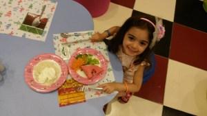 water side çocuk bölümü yemek