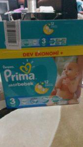 bebek bezi kutusunu süslüyoruz