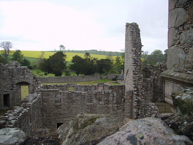 tolquhon, one of Aberdeenshire's ruined castles
