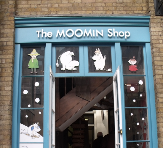 the moomin shop, London. Ailish Sinclair | Author