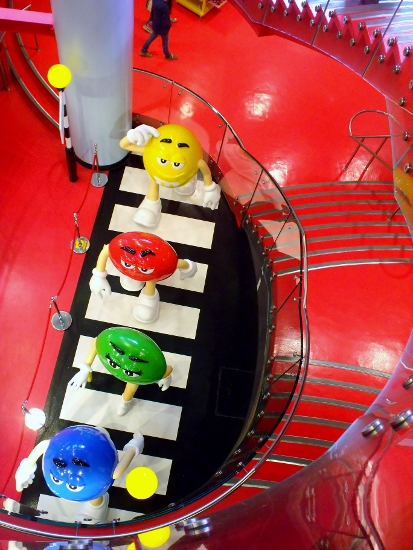 M&M store, London. Ailish Sinclair | Author