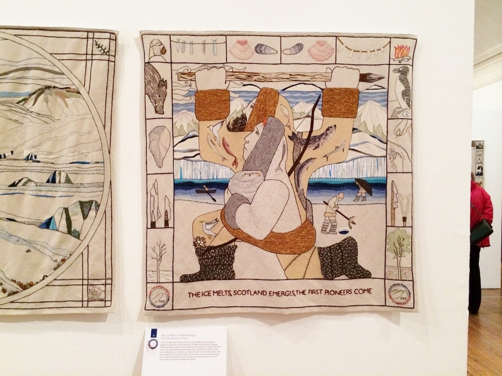 The Great Tapestry of Scotland in Aberdeen Art Gallery