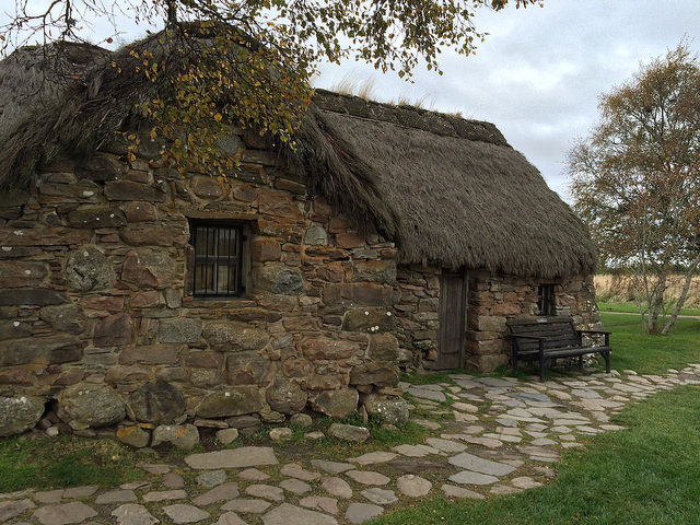 cottage at Culloden