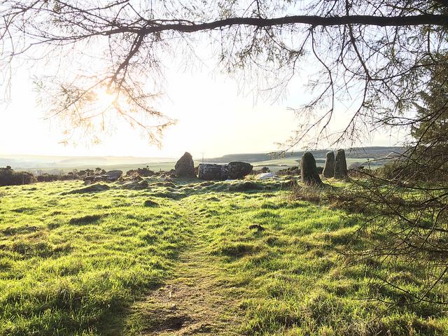 Aikey Brae stone circle