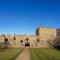 Pitsligo Castle and Peathill Kirk