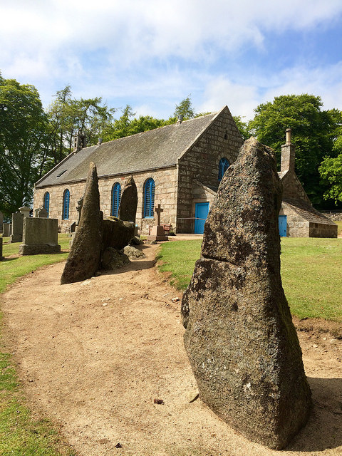 church and stones