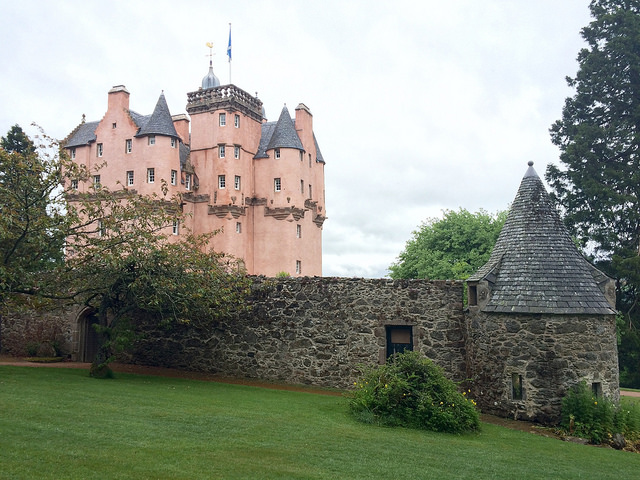 One of the most famous Scottish castles: Craigievar Castle