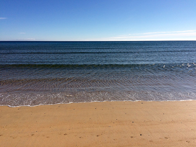 sea at Fraserburgh beach - Going Coastal