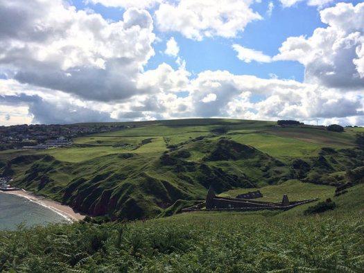 landscape at Gamrie