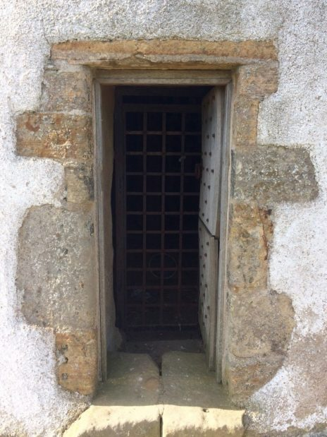 Door to the doocot by Findlater Castle. Ailish Sinclair | Writer