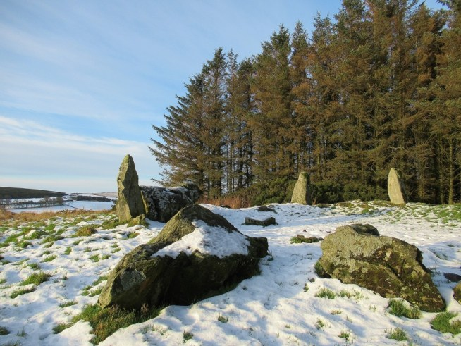 Fallen stones in the foreground here at Aikey Brae Stone Circle. Ailish Sinclair | Writer