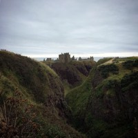 Staring Out to Sea from Dunnottar Castle