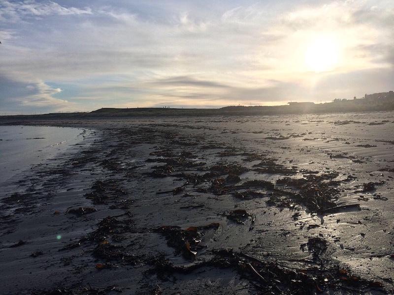 Rosehearty beach in Aberdeenshire