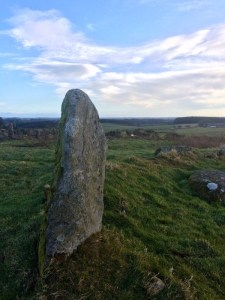 Stone at Aikey Brae