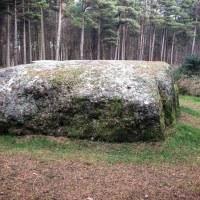 The Cumberland Stone near Culloden Moor