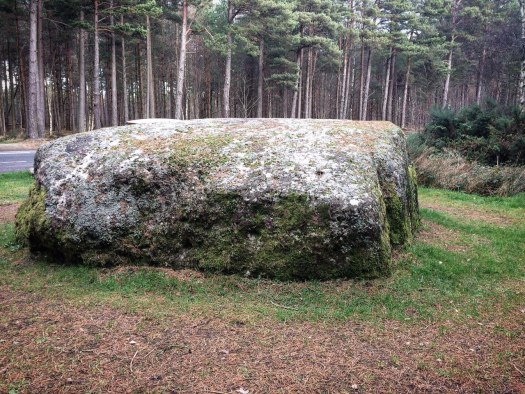 Cumberland Stone, by Culloden in the Scottish Highlands