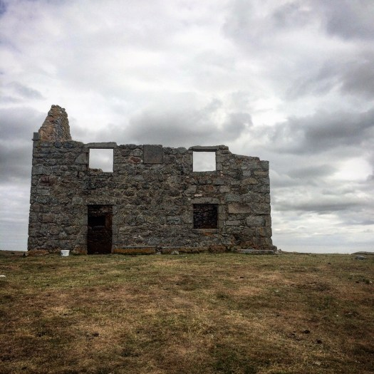 The remains of an 18th century hunting lodge in Aberdeenshire.