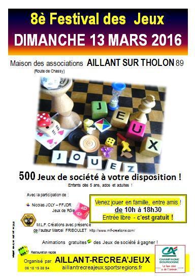 Festival des Jeux d'Aillant