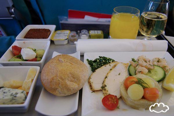 機内食画像 14