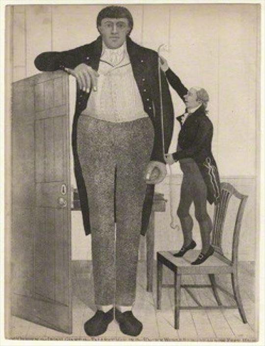歴史上、世界一背の高い人(身長ランキングトップ22)