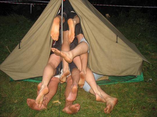 キャンプの面白・怖い写真(画像50枚)
